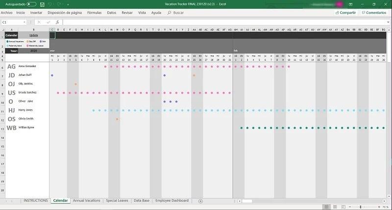 Personalverwaltung Mit Excel Vorlagen Zum Kostenlosen Download