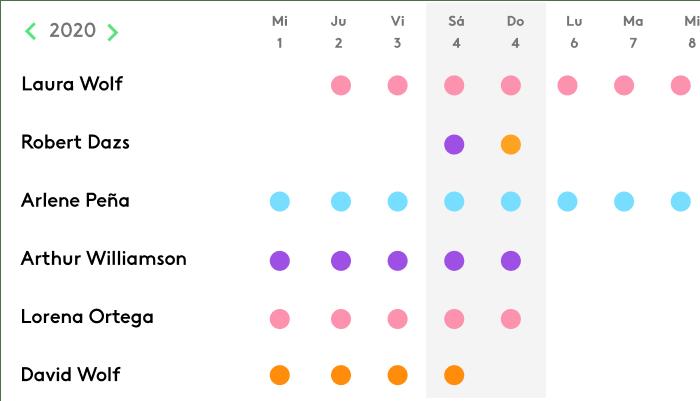 Plantilla Excel para Gestión de Ausencias